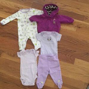 Carters newborn bundle